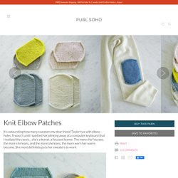 Knit Elbow Patches