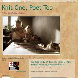 Knit One, Poet Too