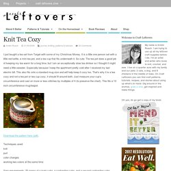 Knit Tea Cozy » Craft Leftovers