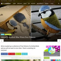 Knitted Birds Free Patterns You Will Love