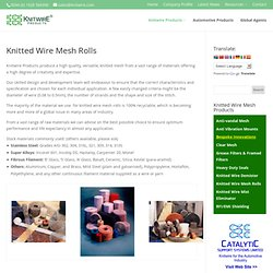 Knitted Wire Mesh Rolls