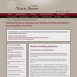 Knitting Machines