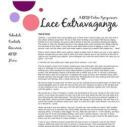Knitting Beyond the Hebrides - Lace Symposium
