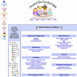 Knitting Pattern Index