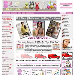 Home Page - Knitting Yarns | Knitting Accessories - Stash Fine Yarns.