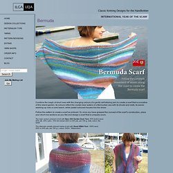 ILGA LEJA - Classic Knitting Patterns for the Handknitter - Bermuda Scarf