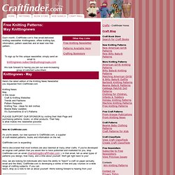 Knitting: Teenie Beanie Baby Sweater