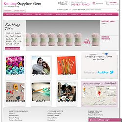 knitting patterns :: yarn :: wool :: needles :: workshops :: Knitting-Supplies-Store