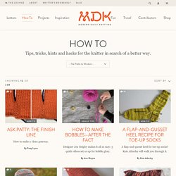 Knitting Stitches, How To Video, Knitting Made Easy
