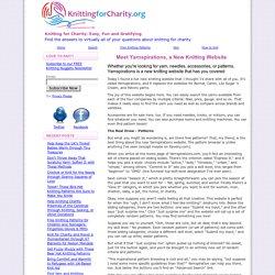 New Knitting Website Yarnspirations