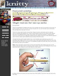 knitty - magic cast-on