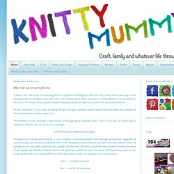 Knitty Mummy