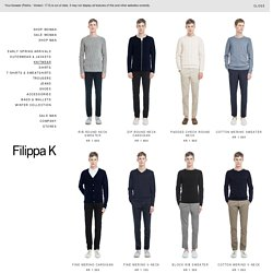 Shop men's collection online - Filippa K