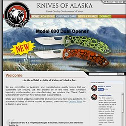 Knives of Alaska: Welcome to Knives of Alaska