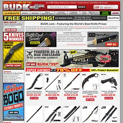 Collectible Knives and Swords – Buy Fantasy Swords, Bowie Knives, Japanese Swords, Airsoft, and more at BudK.com