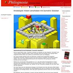 Knobelspiel: Kisten verschieben mit Isometric Sokoban