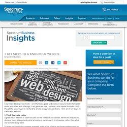 7 Key Steps to a Knockout Website - Spectrum Business Insights