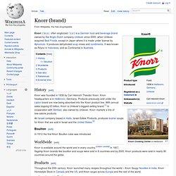 Knorr (brand)