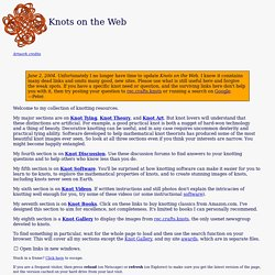 Knots on the Web (Peter Suber)