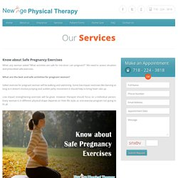 Know about Safe Pregnancy Exercises