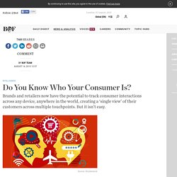 Do You Know Who Your Consumer Is?