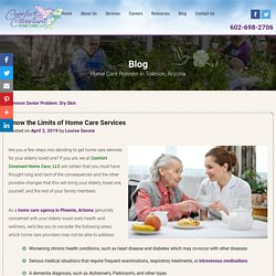 Know the Limits of Home Care Services