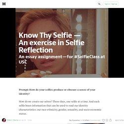 Know Thy Selfie —