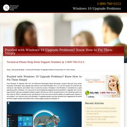 How to Fix Windows 10 Upgrade Problems
