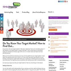 Do You Know Your Target Market? How to Find Out...