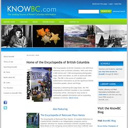 KnowBC - the leading source of BC information