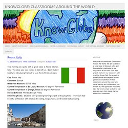 KnowGlobe: Classrooms Around the World