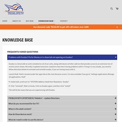 KNOWLEDGE BASE – www.techlife.tv