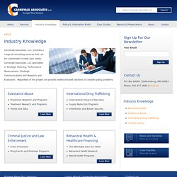 Industry Knowledge - Carnevale Associates, LLC