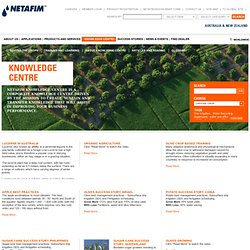 Knowledge Centre - Netafim