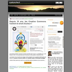 Depuis 10 ans, les Creative Commons hackent le droit d'auteur !