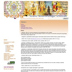 VEDA - Vedas and Vedic Knowledge Online - Vedic Encyclopedia, Bhakti-yoga in vedas, Library