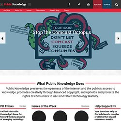 Public Knowledge | Fighting for your digital rights in Washington.