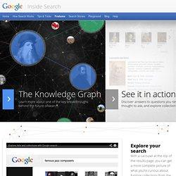 Connaissance – Au cœur de la recherche – Google