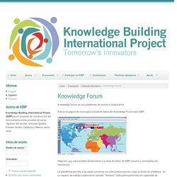 Knowledge Building International Project