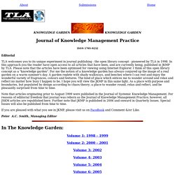 Library - J. Knowledge Management Practice:
