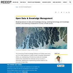 Open Data & Knowledge Management