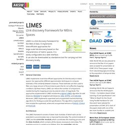Projects/LIMES