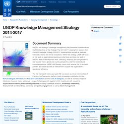 s Knowledge Management Strategy