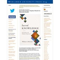 Sacred Knowledge: Hopkins Playlist for Psilocybin Studies