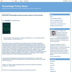 Knowledge Policy News: June 2012
