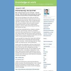 Knowledge-at-work