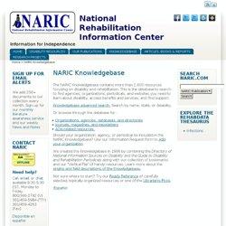 National Rehabilitation Information Center