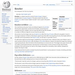 Knucker - Wikipedia, la enciclopedia libre