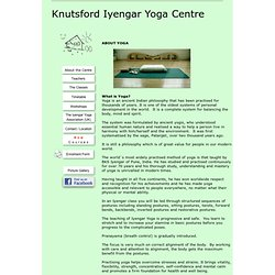 Knutsford Iyengar Yoga Centre