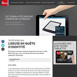Kobo Nia: liseuse en quête d'identité - La Presse+
